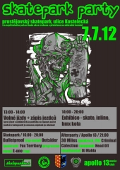 Skatepark Prostejov party 07.07.2012
